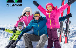 Online Ski rental clothing